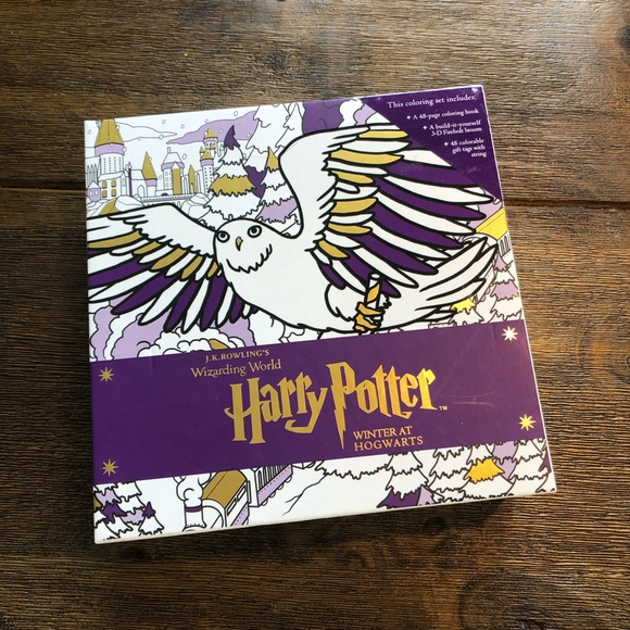 Harry Potter Colouring Set NWT